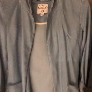 Tallis lightweight jean blazer